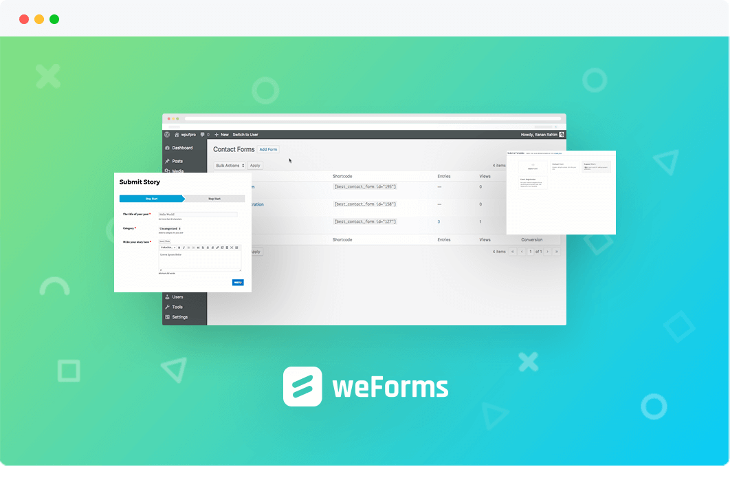 weForms Pro – Business Free GPl Plugin Download