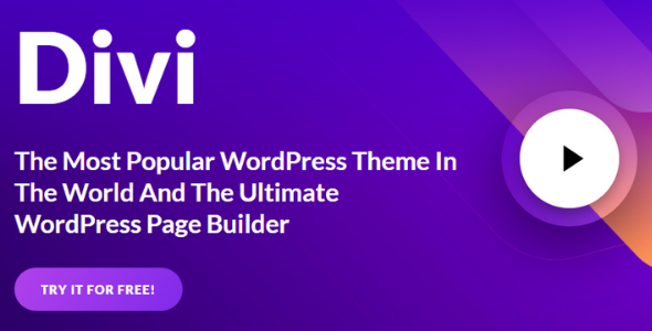 Divi v4.9.4 [With Premade Layouts] Free Theme Download